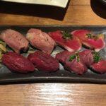 東京新宿で肉寿司を食べるならここ!「新宿三丁目 肉寿司」が最高に美味しかった件